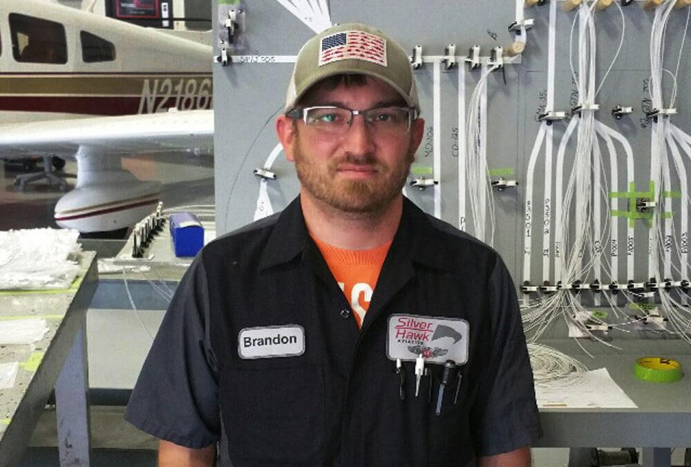 New Avionics Technician – Brandon Gish