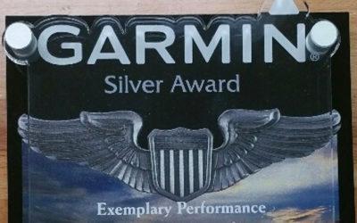 Garmin Silver Award of Exemplary Performance